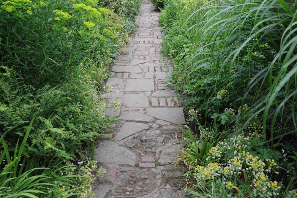 イギリスの小道
