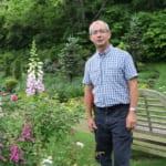 ガーデンデザイナー、マーク・チャップマン
