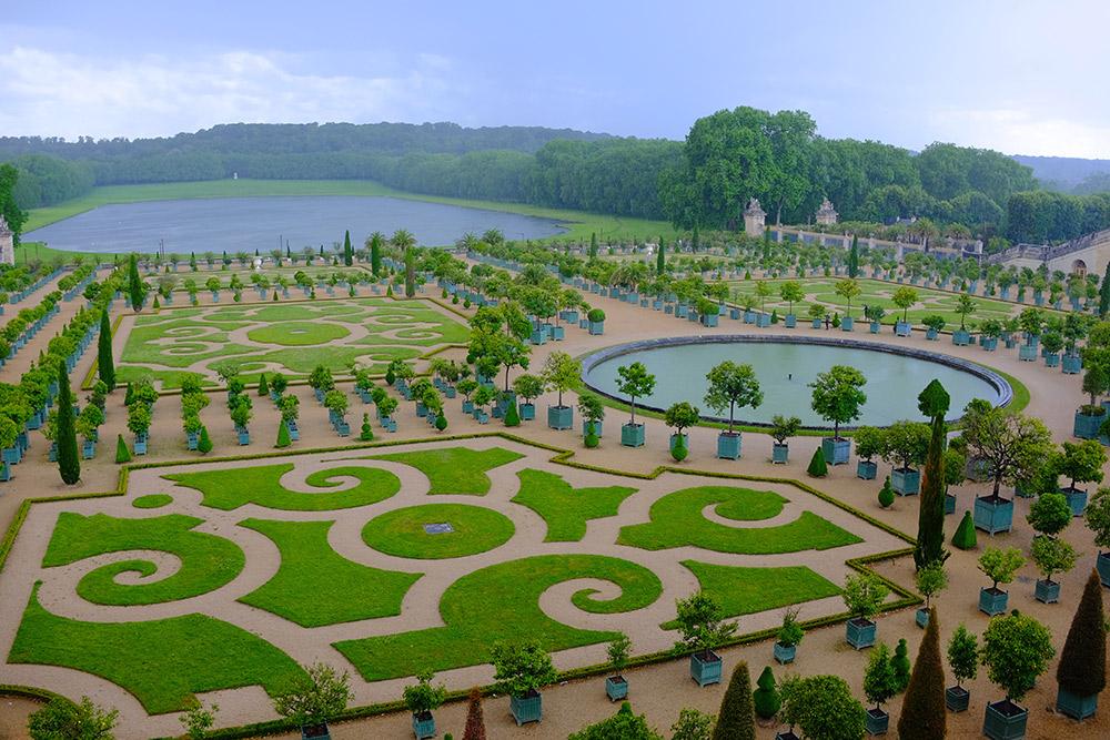 ヴェルサイユの庭