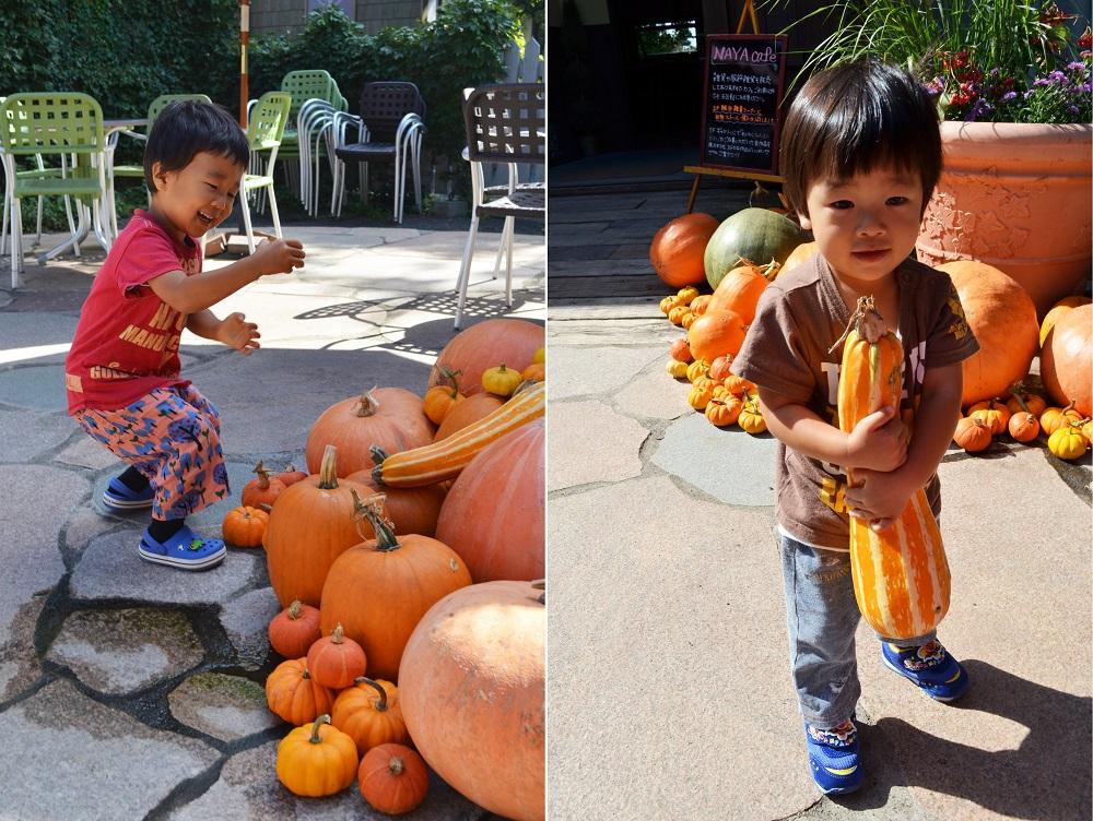 ハロウィンカボチャは子供に人気