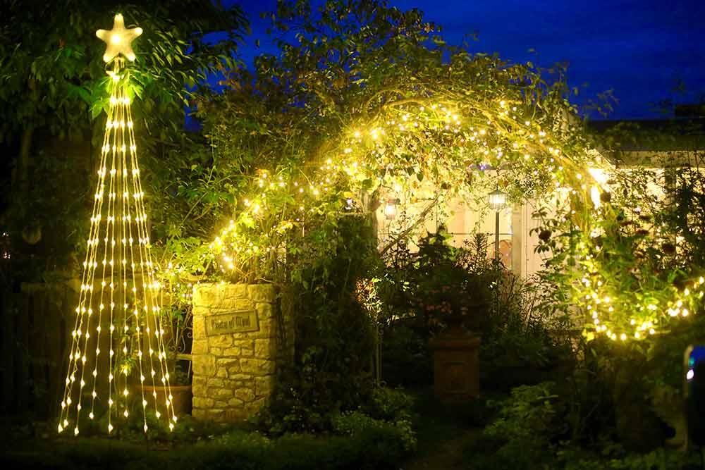 Sanae Gardenのライトアップ