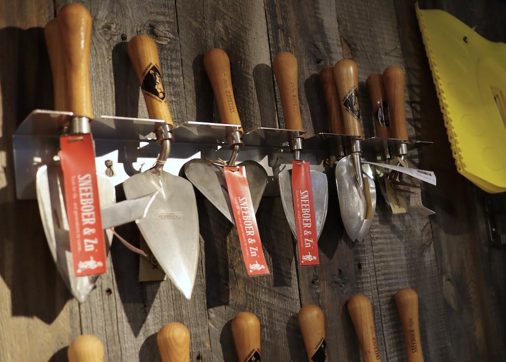 オランダ・スネーブル社のガーデンツール(園芸ショップ「toolbox世田谷」)