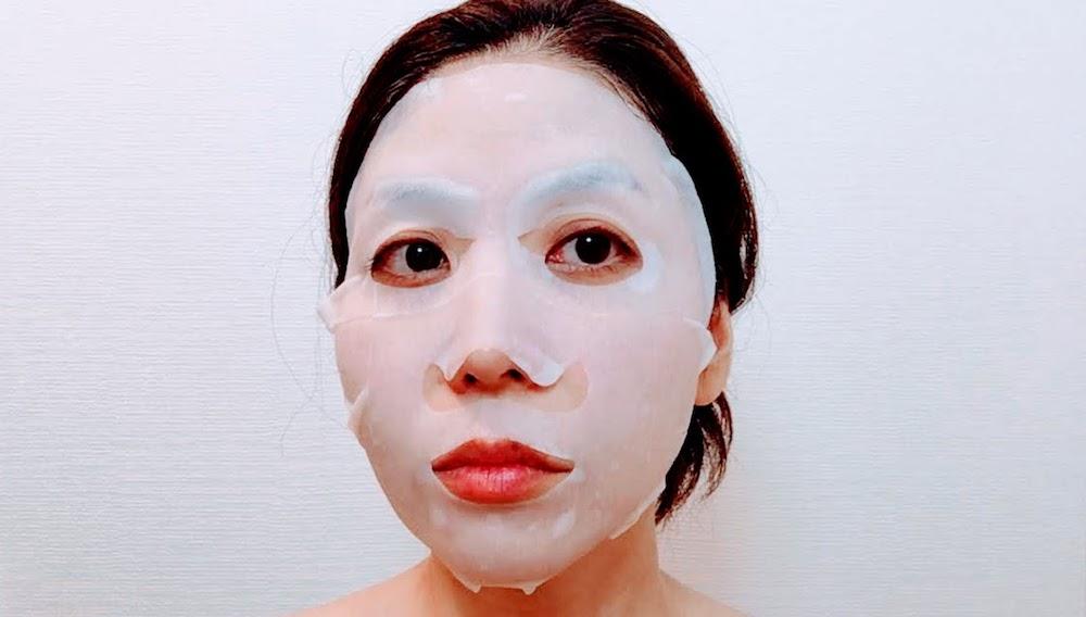 フェイスマスクを試してみた!