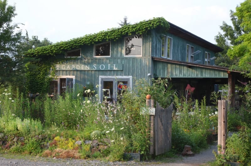 ガーデンソイルの入り口