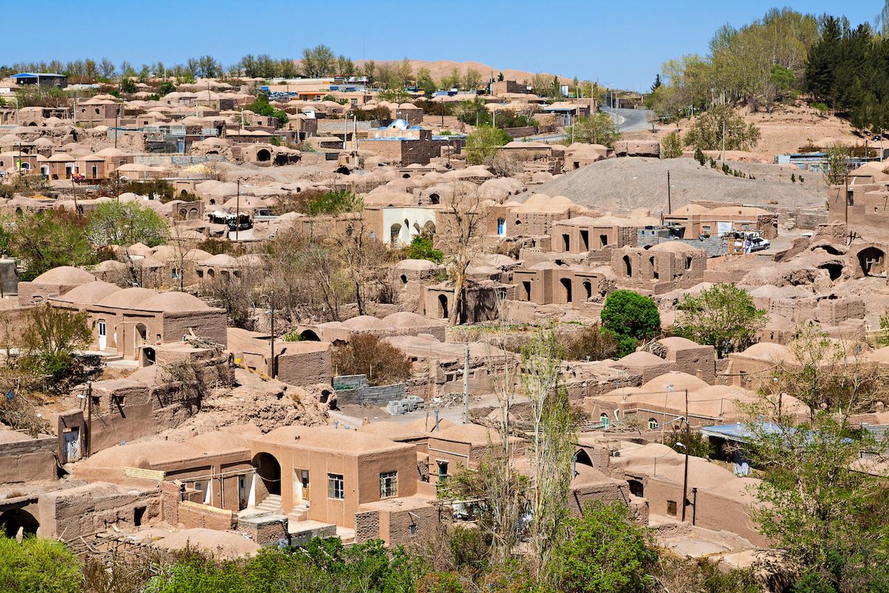 イランのレンガの家