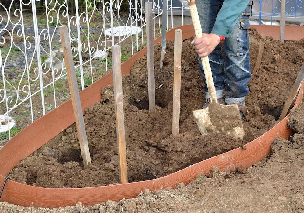 初心者さん必見!バラの花壇の作り方-土壌改良-