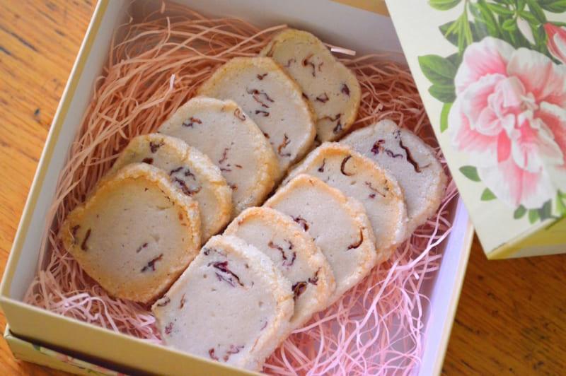 バラのクッキー