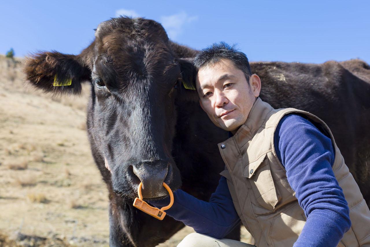宮崎県産牛と八崎さん