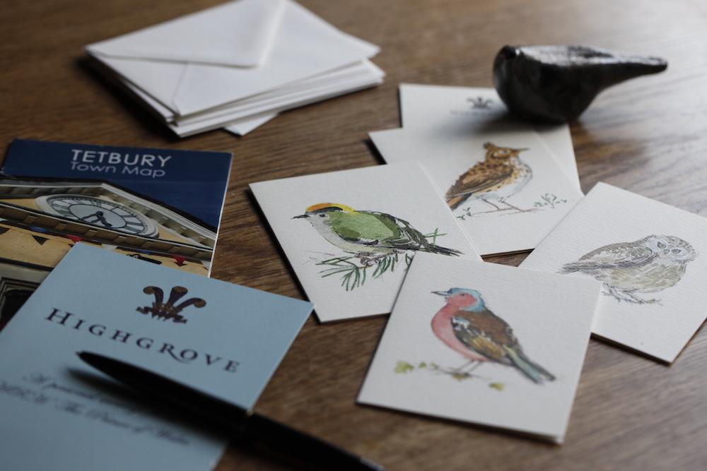 メッセージカードと封筒のセット