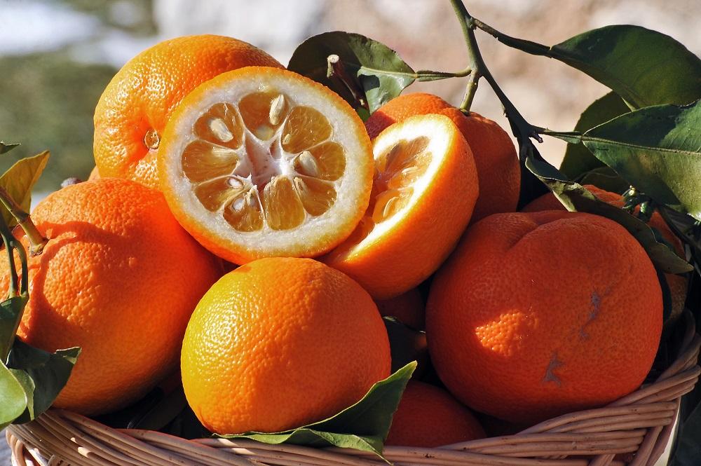 アロマ効果のあるオレンジ