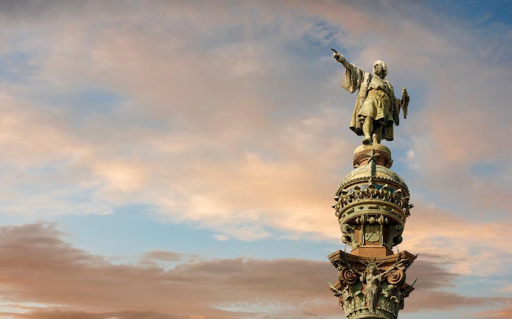 クリストファー・コロンブスの像