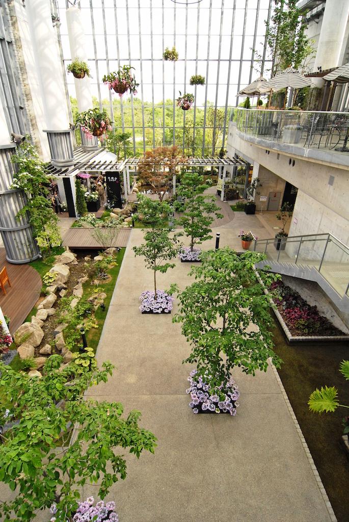 奇跡の星の植物館 アトリウム