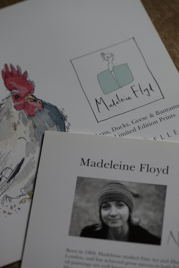 『Birdsong』の作者、Madeleine