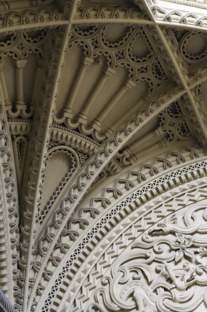 ペンリン城の円天井