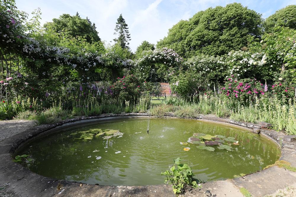 ローシャム・パークの池