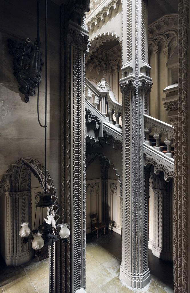 ペンリン城の階段