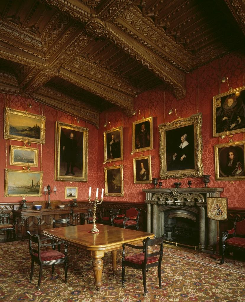 ペンリン城の食堂