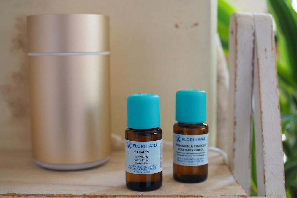 精油で花粉症対策:ディフューザーを使って芳香浴