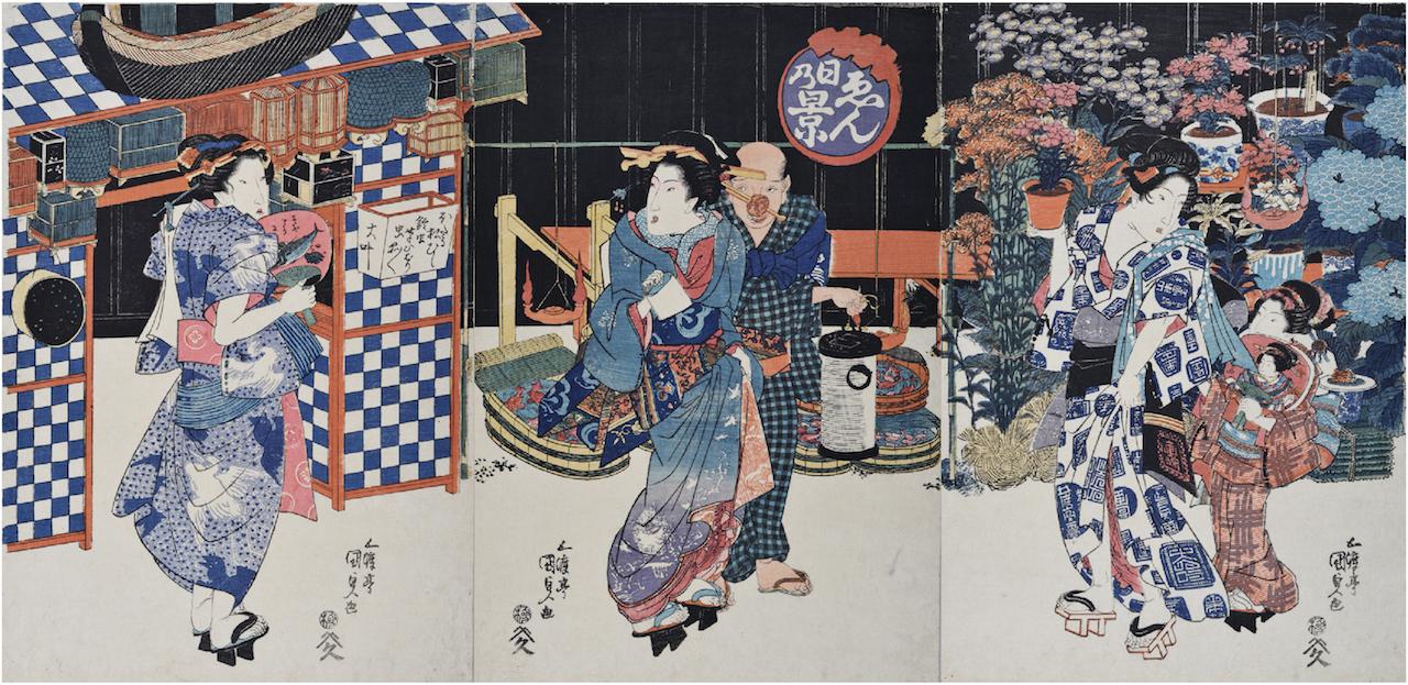 Utagawa Kunisada(Utagawa Toyokuni III).