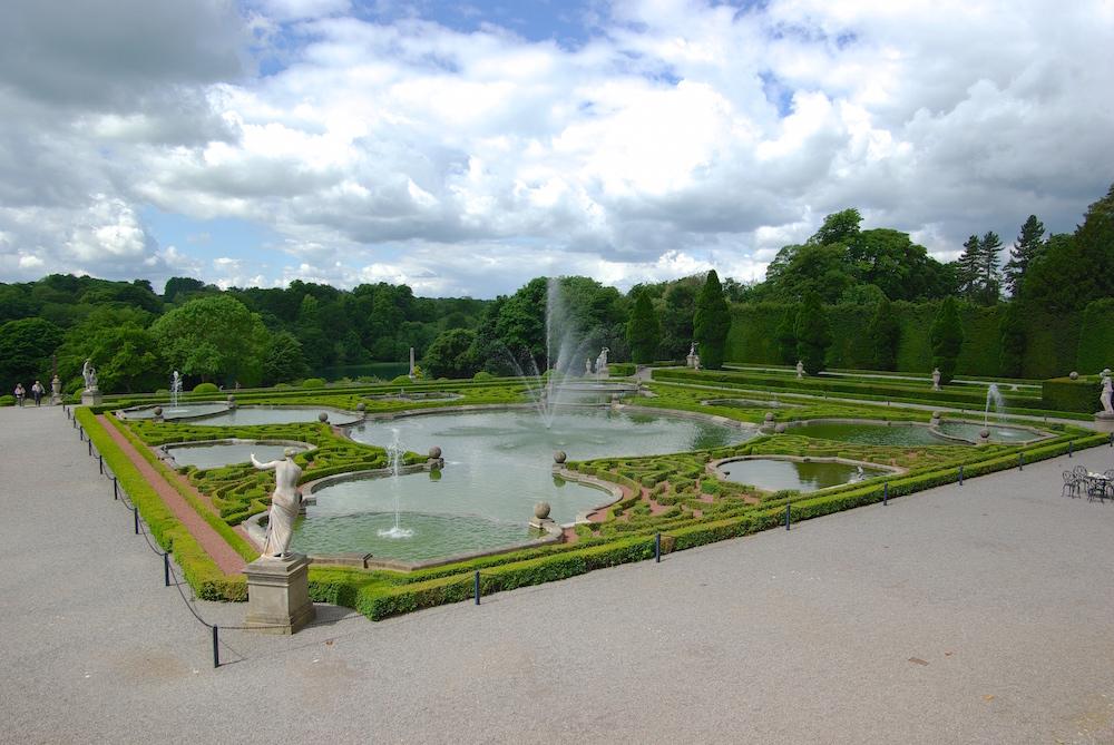 ブレナム宮殿のウォーターガーデン