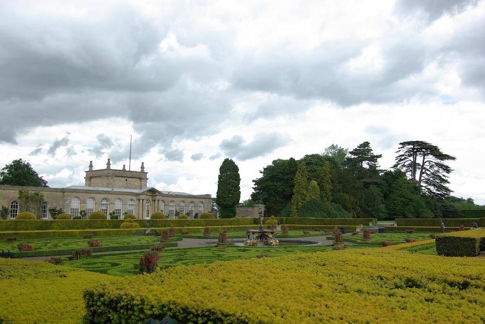 ブレナム宮殿のオランジェリー
