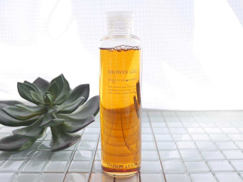 濃密な植物エキスと香水のような天然香料のリッチな香り メゾンレクシア「シャワージェル モロッカンガーデン」