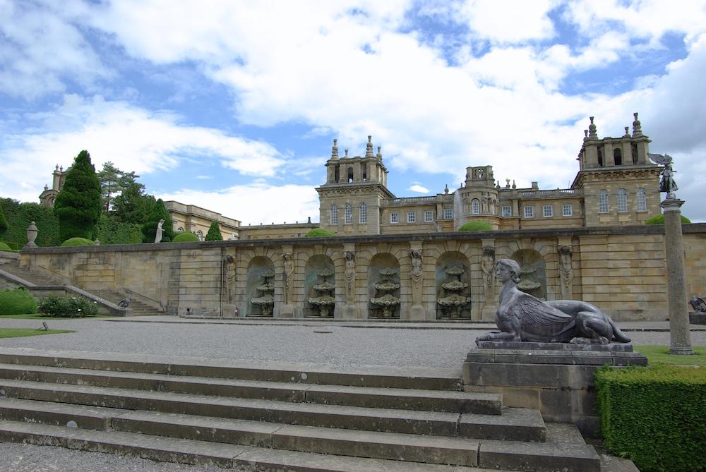 ブレナム宮殿のフォーマルガーデン