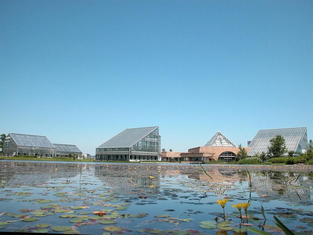 富山県中央植物園 温室