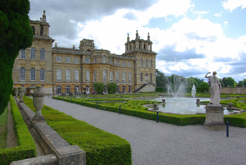 ブレナム宮殿とウォーターガーデン