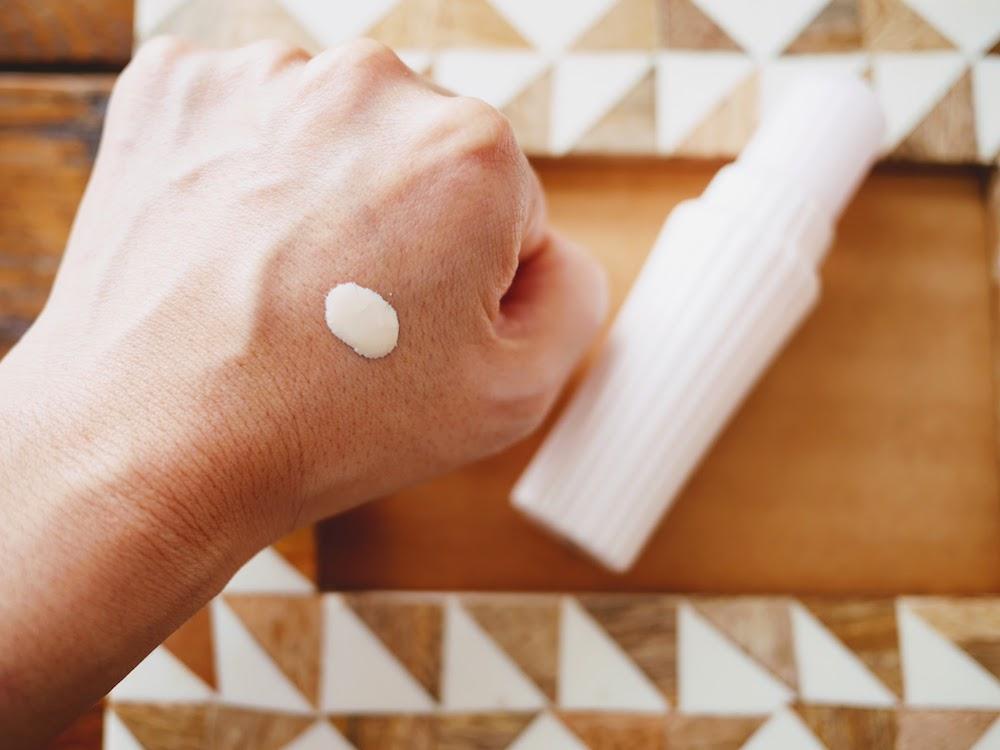 アユーラ「fサインディフェンス ハイプロテクション(医薬部外品)」-踊子草エキス、イチョウ葉抽出エキスなどからなるシールドコンプレックスが花粉・ほこりから肌を守る