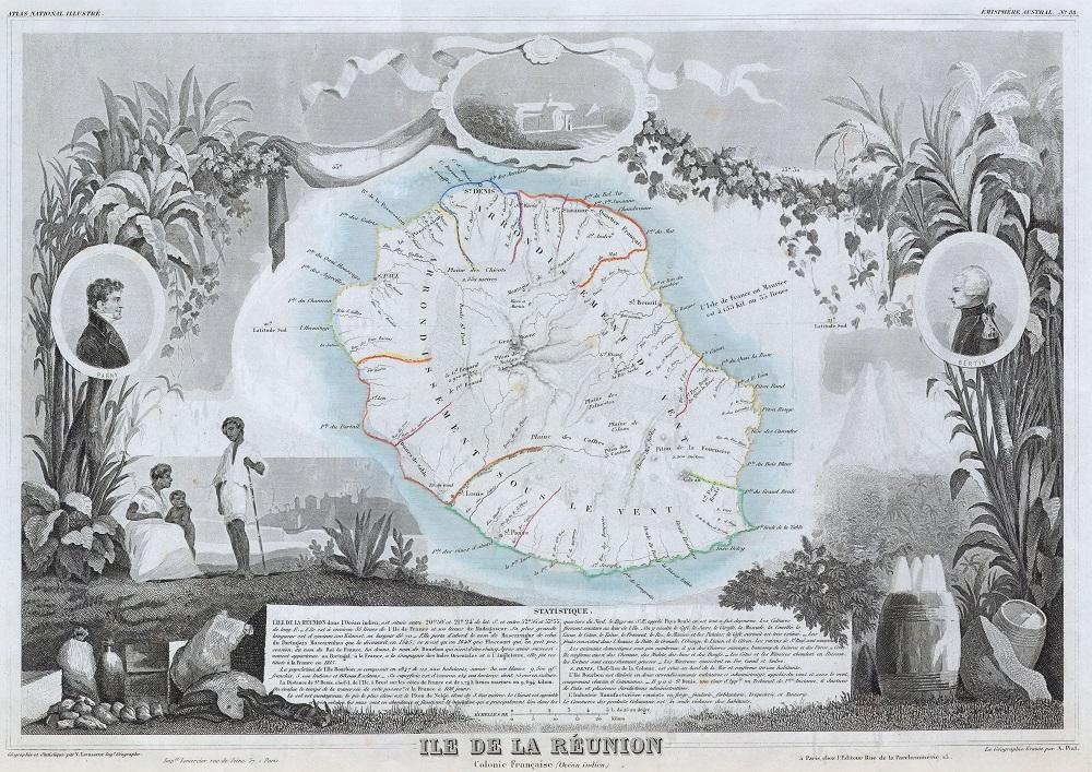 レユニオン島-旧ブルボン島