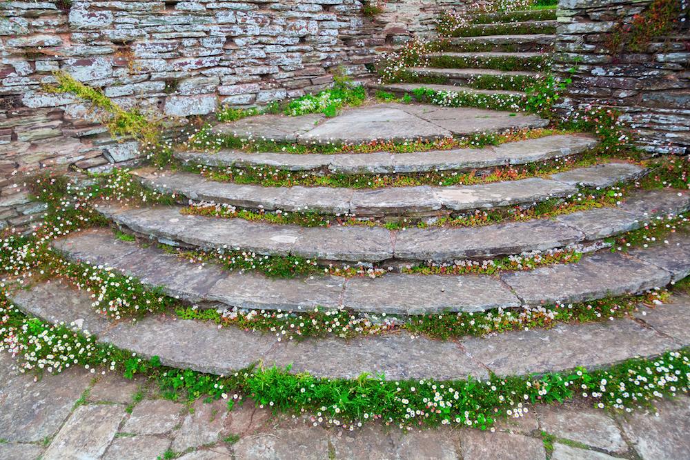 ヘスタークームの階段