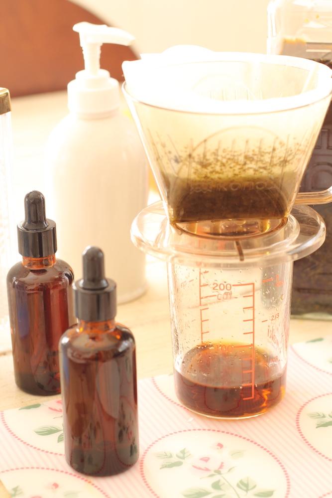 エキナセアチンキ液の作り方-材料