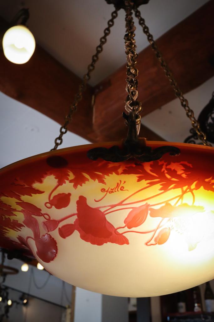 エミール・ガレのライト