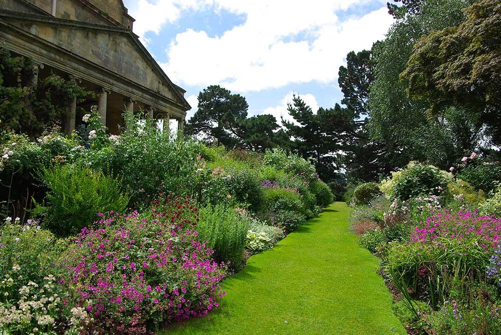 「キフツゲート・コート・ガーデン」のボーダー花壇
