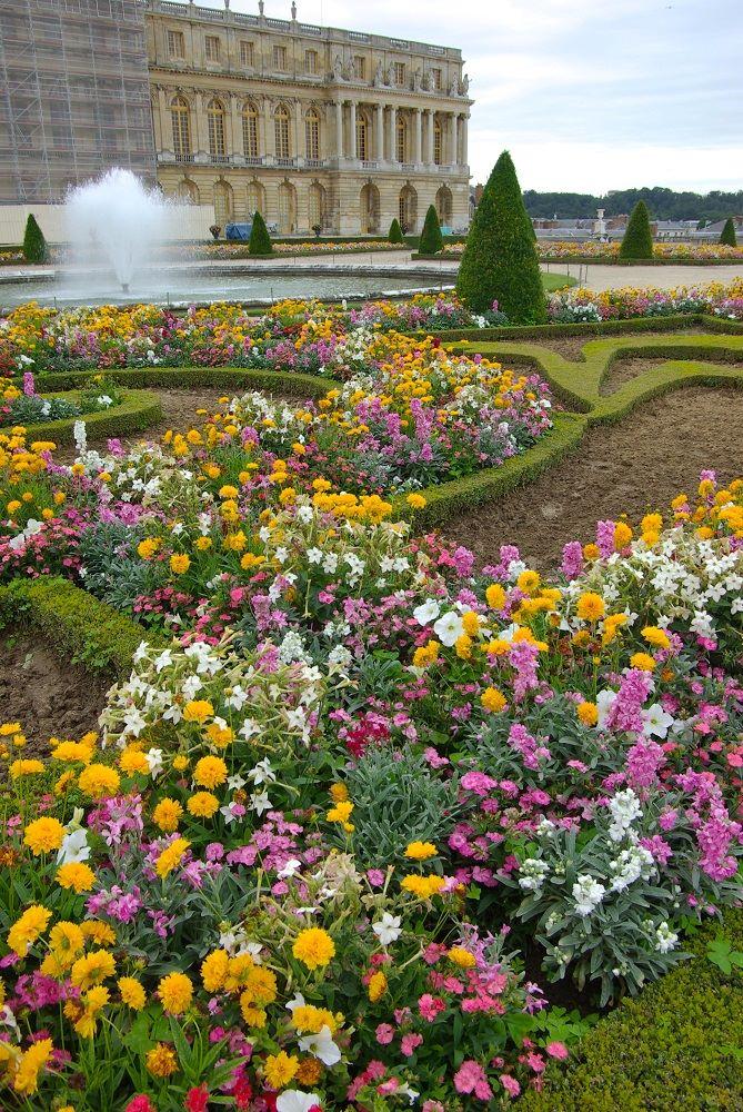 ヴェルサイユ宮殿の植栽