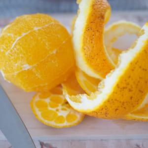 オレンジまるごと活用術!ビネガー&ピールの作り方