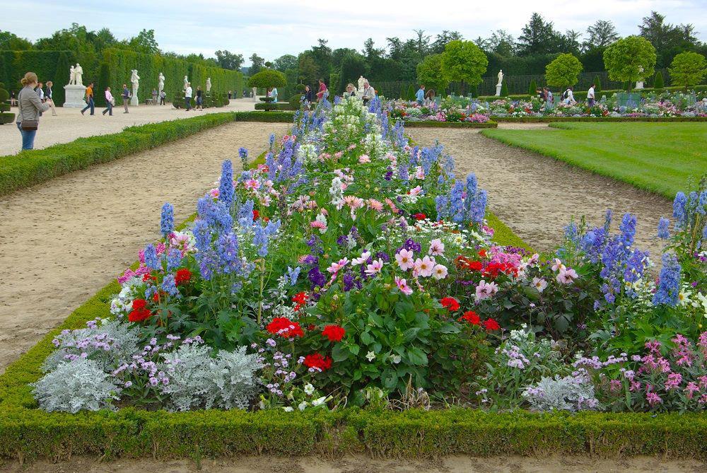 フランスの花壇