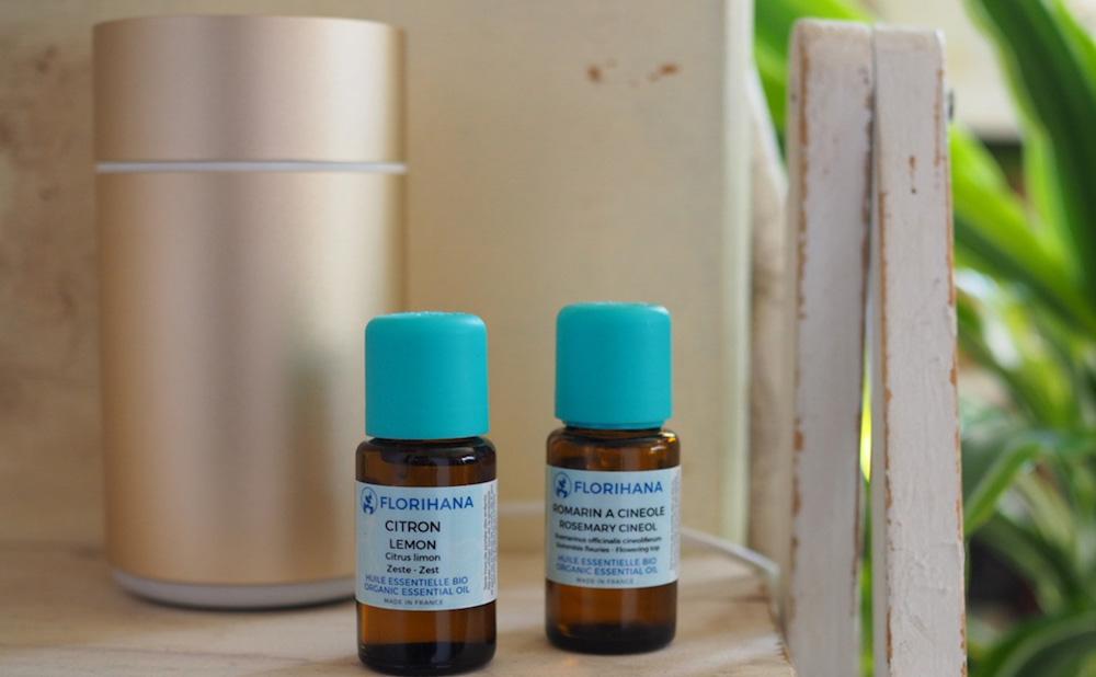 集中力や効率をアップ! ローズマリー&レモンブレンドで芳香浴