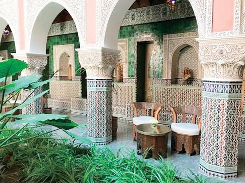 モロッコの邸宅