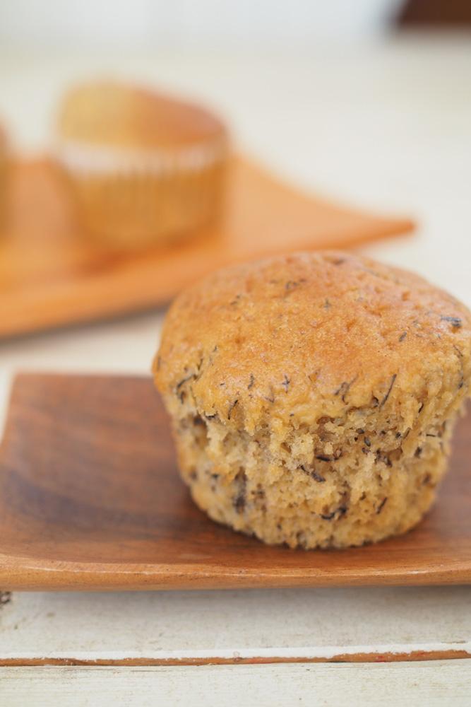 カルダモンがピリッと香る、大人の味のカップケーキの作り方
