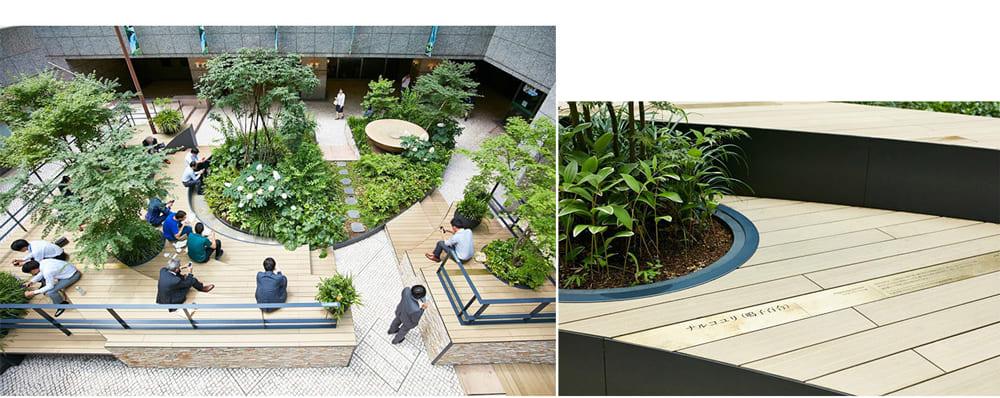 植物がそこにある意図を伝え、興味を持ってもらう仕掛けが重要。植物の地域性や、人の文化との関わり方、形態的特徴など、空間に合う情報とデザインの形で、人と植物の距離をさらに近づける。