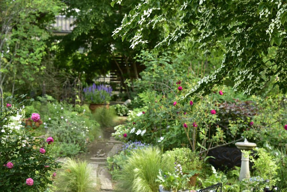 ガーデンショップ「フェアリーガーデン」のサンプルガーデン