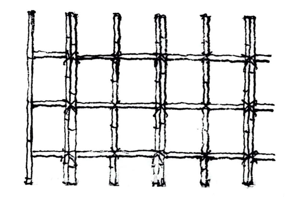 竹垣には、洋風フェンスにはない日本古来の独特な伝統があります。地域や作り手によって竹垣の名称や分類が違ってくるなど、竹垣の形状は多種多様です。 ここでは、人の見通し具合によって分類した「透かし垣」と「遮蔽垣(しゃへいがき)」について、それぞれの垣根の名称や特徴をご紹介します。 ●透かし垣 透かし垣は、竹と竹の間に隙間を開け、向こう側が見えるようになっている竹垣です。庭の仕切りとして使います。以下が、透かし垣の名称と説明です。 ・四ツ目垣(よつめがき)