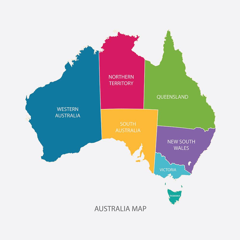 オーストラリア大陸