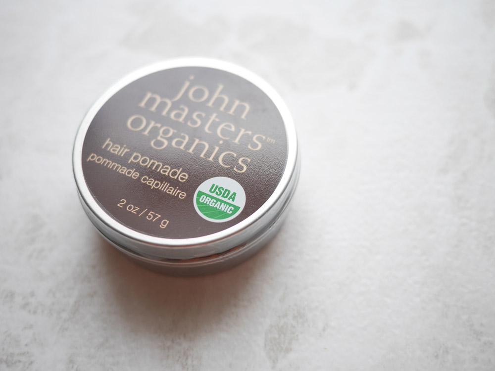 食品基準のオーガニック認証 ジョンマスターオーガニック「ヘアワックス」