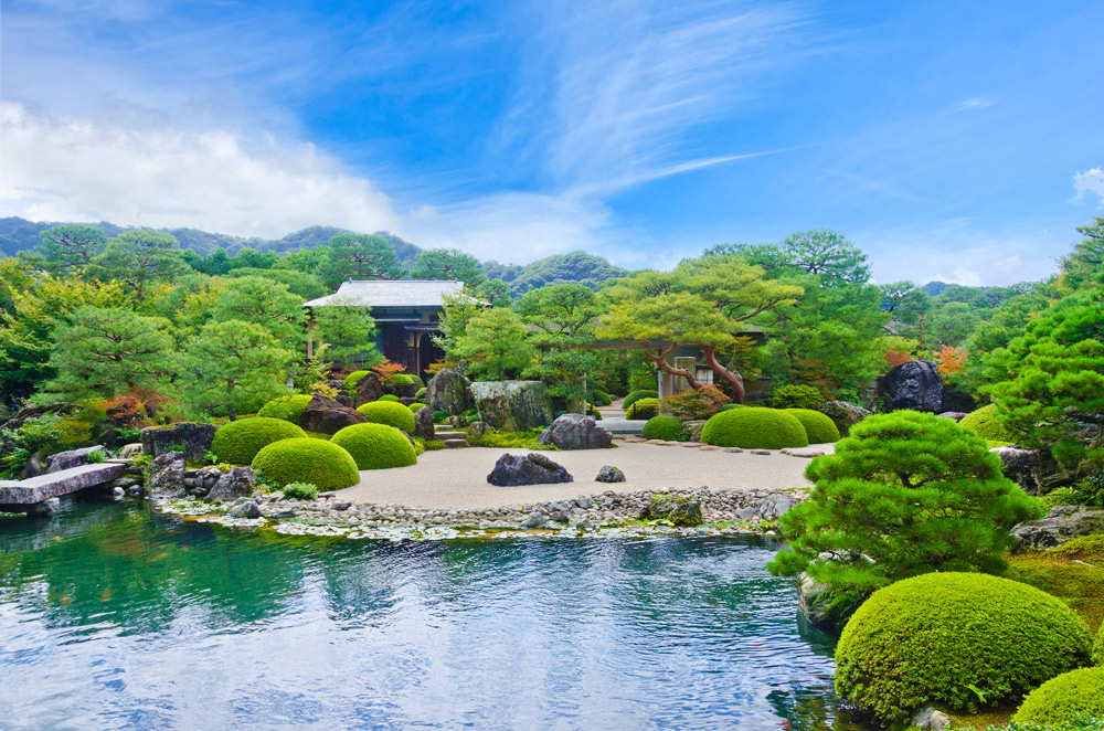 欧米で日本庭園は大人気!-足立美術館