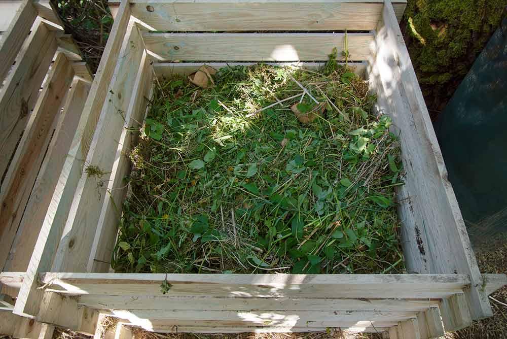 自家製堆肥