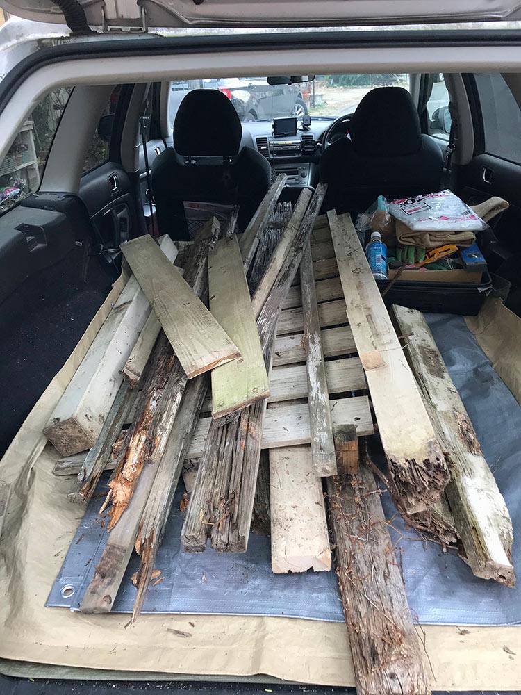 木材の処理