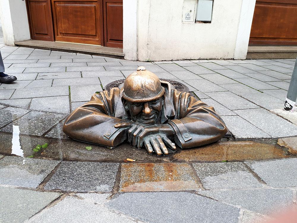 ブラチスラバの彫刻